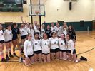 <p>Varsity VB beat the undefeated St. Catherine's to win the CHSAA VB Championship on October 29th!</p>